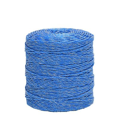 Polywire for electric fence, diameter 3 mm, blue