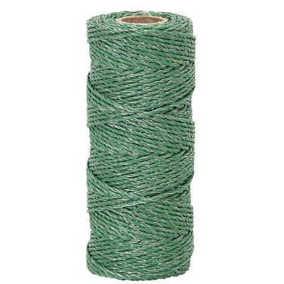 Polywire for electric fence, diameter 2.5 mm, green