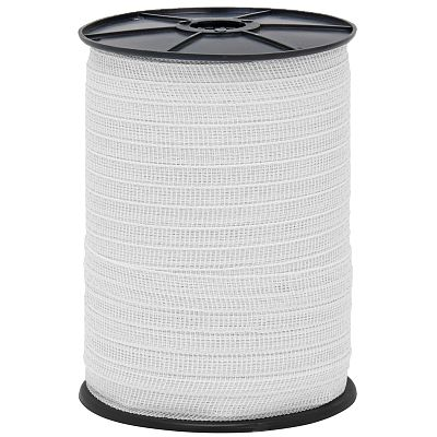 Tape for electric fence, diameter 20 mm, white