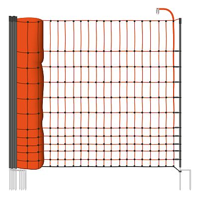 Poultry electric fence net