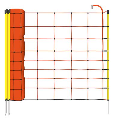 Electric fence net for sheep