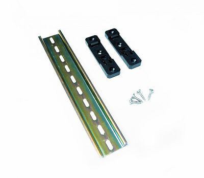 DIN rail fencee for mounting the energizer, 200 mm